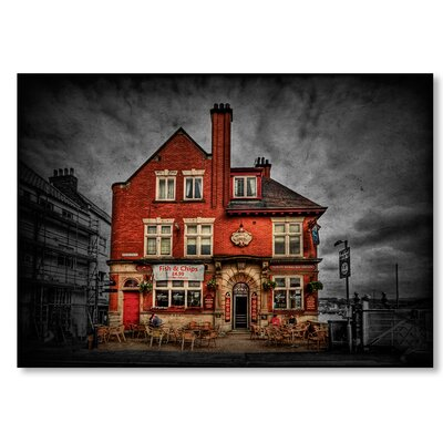 Americanflat 'Fish and Chips' by Lina Kremsdorf Photographic Print on Wrapped Canvas