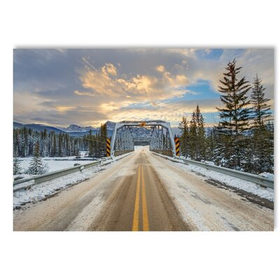 Americanflat Bridge Photographic Print on Wrapped Canvas