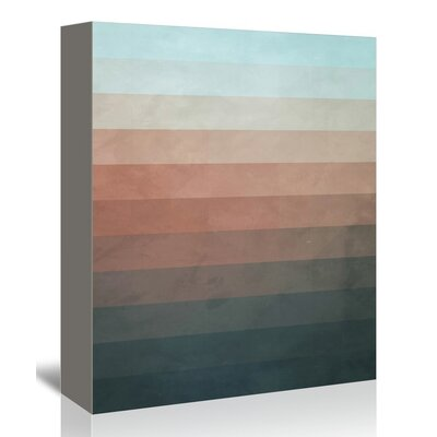 Americanflat Ombre Wall Graphic Art on Wrapped Canvas