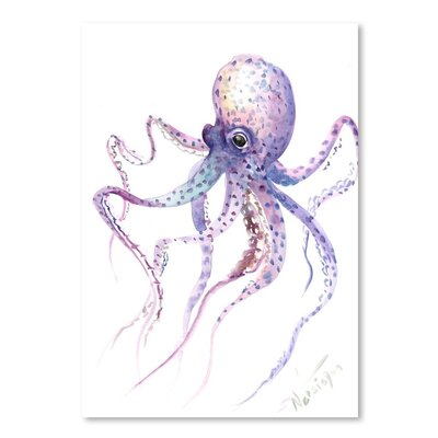 Americanflat 'Octopus 5' by Suren Nersisyan Graphic Art on Wrapped Canvas
