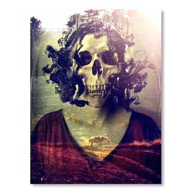Americanflat 'Miss Skull' by Ali Gulec Graphic Art on Wrapped Canvas