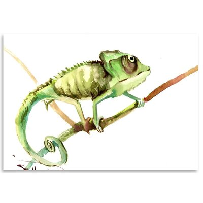 Americanflat 'Chameleon' by Suren Nersisyan Painting Print on Wrapped Canvas