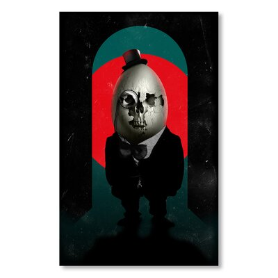Americanflat 'Humpty Dumpty' by Ali Gulec Graphic Art Wrapped on Canvas
