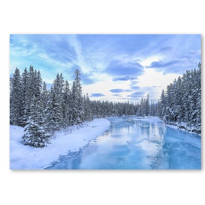Americanflat 'Forest Snow 2' by Lina Kremsdorf Photographic Print on Wrapped Canvas