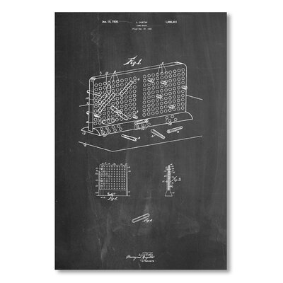 Americanflat 'Battleship' by House of Borders Graphic Art Wrapped on Canvas