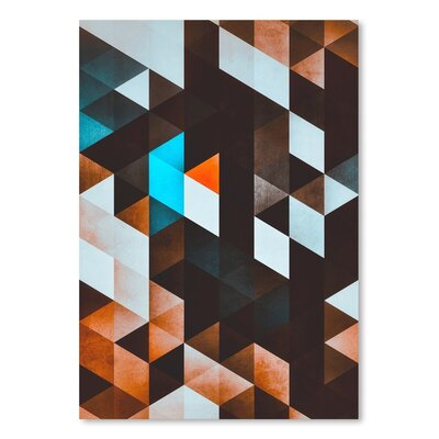 Americanflat 'Ydd_Yvyn' by Spires Graphic Art on Wrapped Canvas