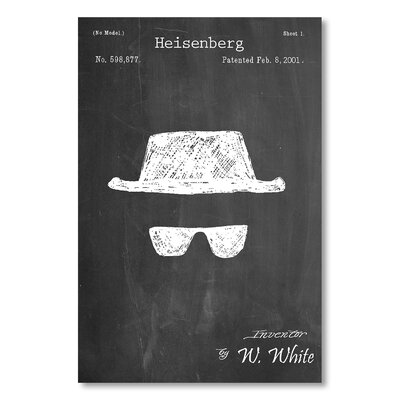 Americanflat 'Heisenberg' by House of Borders Graphic Art Wrapped on Canvas