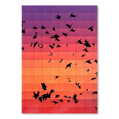 Americanflat Dyspyryt Dysk Graphic Art on Wrapped Canvas
