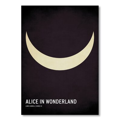 Americanflat 'Alice in Wonderland' by Christian Jackson Graphic Art on Wrapped Canvas
