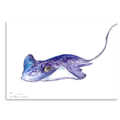 Americanflat 'Stingray' by Suren Nersisyan Painting Print on Wrapped Canvas