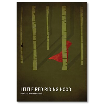 Americanflat 'Red Riding Hood' by Christian Jackson Graphic Art on Wrapped Canvas