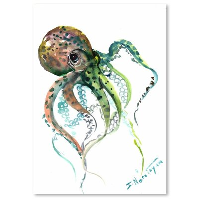 Americanflat 'Octopus 2' by Suren Nersisyan Painting Print on Wrapped Canvas