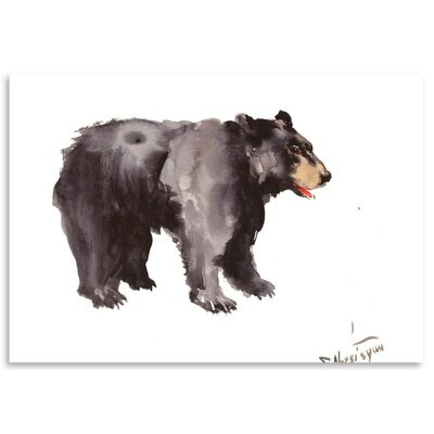 Americanflat 'American Black Bear' by Suren Nersisyan Graphic Art on Wrapped Canvas