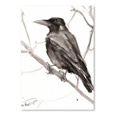 Americanflat 'Raven' by Suren Nersisyan Art Print Wrapped on Canvas