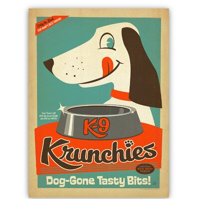 Americanflat Krunchies by Anderson design Group Graphic Art Wrapped on Canvas