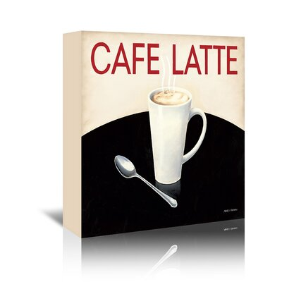 Americanflat 'Caffe Latte' by Marco Fabiano - Wild Apple Vintage Advertisement Wrapped on Canvas