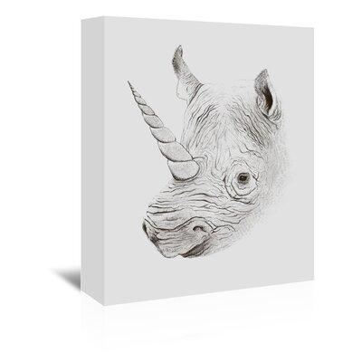 Americanflat 'Rhinoplasty' by Florent Bodart Art Print Wrapped on Canvas