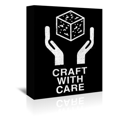 Americanflat 'Craft With Care 2' by Florent Bodart Graphic Art Wrapped on Canvas