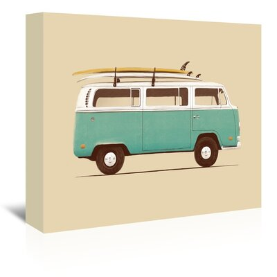 Americanflat 'Van'' by Florent Bodart Graphic Art Wrapped on Canvas