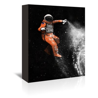 Americanflat 'Astronaut' by Florent Bodart Graphic Art Wrapped on Canvas