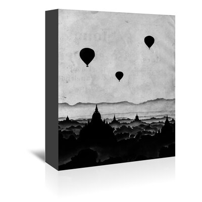 Americanflat 'Aurora' by Florent Bodart Graphic Art Wrapped on Canvas