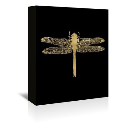 Americanflat 'Dragonfly' by Amy Brinkman Graphic Art Wrapped on Canvas