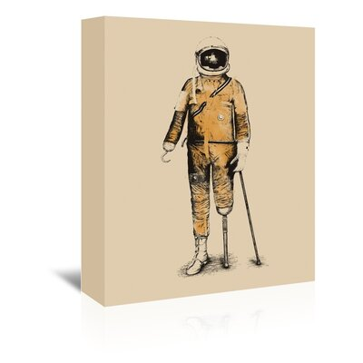Americanflat 'Astropirate' by Florent Bodart Art Print Wrapped on Canvas