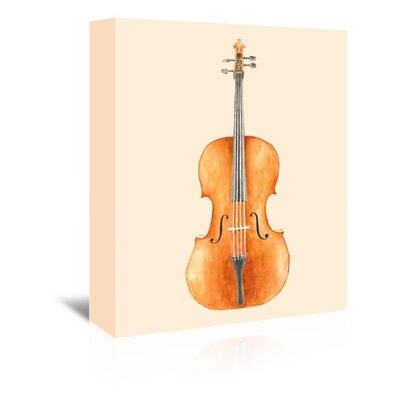 Americanflat 'Cello' by Florent Bodart Art Print Wrapped on Canvas
