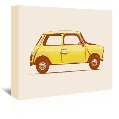 Americanflat 'Mini Mr Beans' by Florent Bodart Graphic Art Wrapped on Canvas