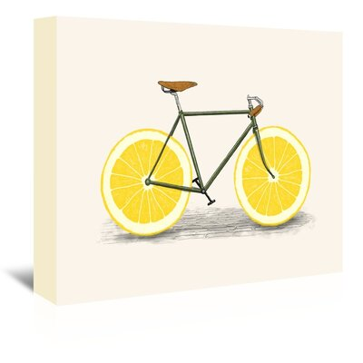 Americanflat 'Zest' by Florent Bodart Graphic Art Wrapped on Canvas