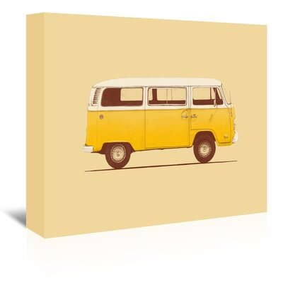 Americanflat 'Van' by Florent Bodart Graphic Art Wrapped on Canvas