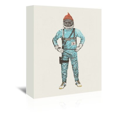 Americanflat 'Zissou In Space' by Florent Bodart Art Print Wrapped on Canvas