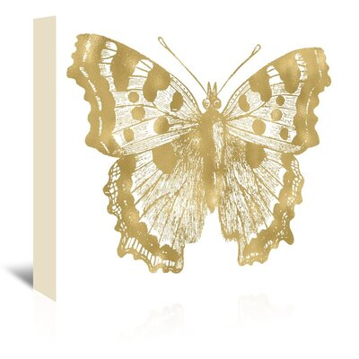 Americanflat 'Butterfly 1' by Amy Brinkman Graphic Art Wrapped on Canvas