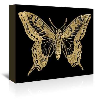 Americanflat 'Butterfly' by Amy Brinkman Graphic Art Wrapped on Canvas
