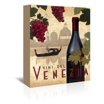 Americanflat 'Vine Del Vinezia' by Marco Fabiano Vintage Advertisementhic Wrapped on Canvas