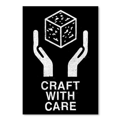 Americanflat 'Craft With Care 2' by Florent Bodart Graphic Art