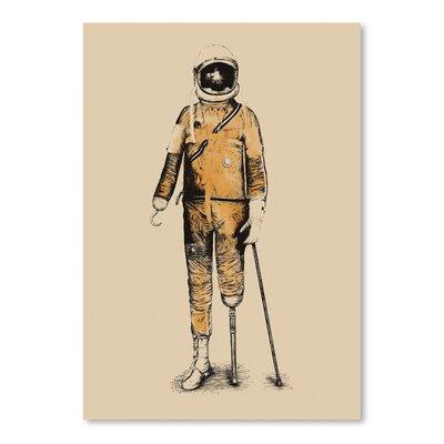 Americanflat 'Astropirate' by Florent Bodart Art Print