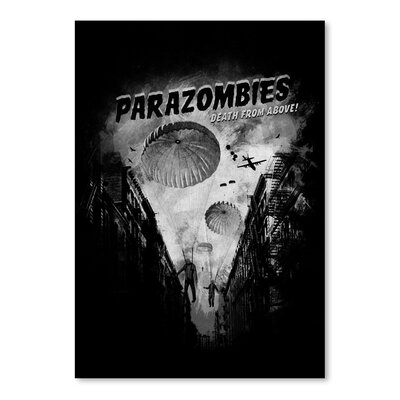 Americanflat 'Para Zombies' by Florent Bodart Vintage Advertisement
