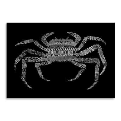 Americanflat 'Crab' by Florent Bodart Graphic Art