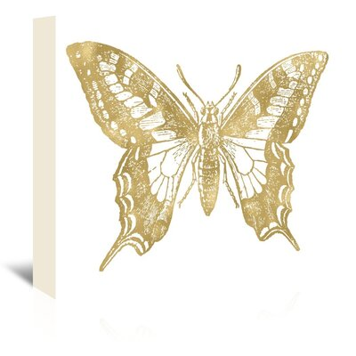 Americanflat 'Butterfly 2' by Amy Brinkman Graphic Art Wrapped on Canvas