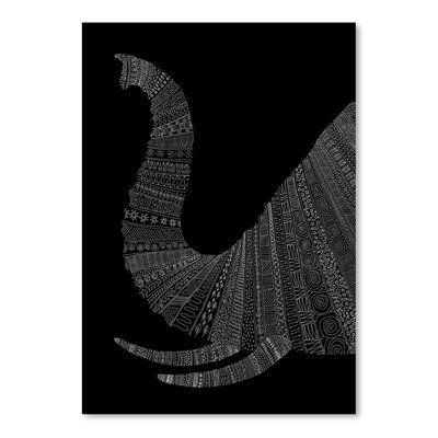 Americanflat 'Elephant' by Florent Bodart Graphic Art