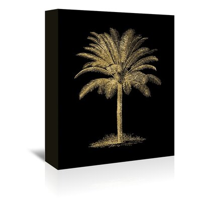 Americanflat 'Palm Tree' by Amy Brinkman Graphic Art Wrapped on Canvas