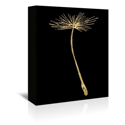 Americanflat 'Dandelion 2 G' by Amy Brinkman Graphic Art Wrapped on Canvas