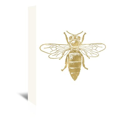 Americanflat 'Bumblebee' by Amy Brinkman Graphic Art Wrapped on Canvas
