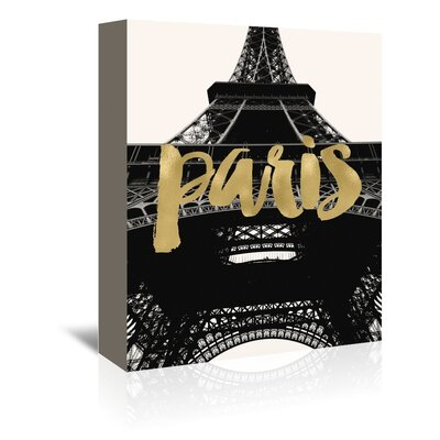 Americanflat 'Paris Eiffel Tower Photo' by Amy Brinkman Graphic Art Wrapped on Canvas