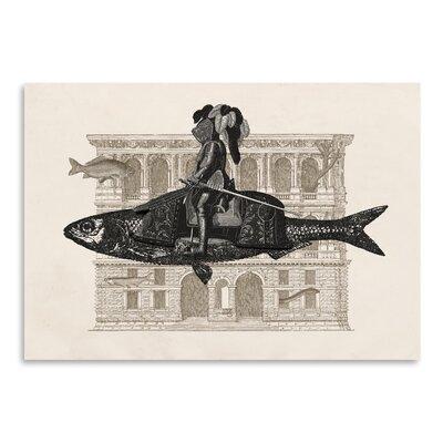 Americanflat 'Impromptu N1' by Florent Bodart Graphic Art