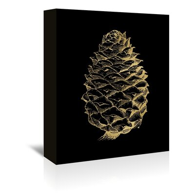 Americanflat 'Pine Cone' by Amy Brinkman Graphic Art Wrapped on Canvas
