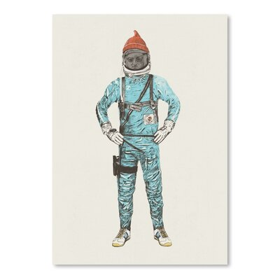 Americanflat 'Zissou in Space' by Florent Bodart Graphic Art