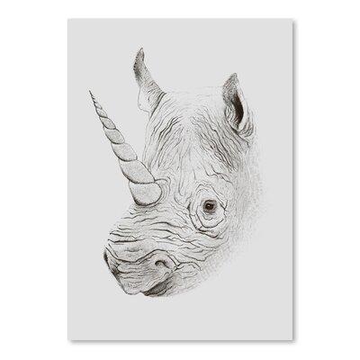 Americanflat 'Rhinoplasty' by Florent Bodart Graphic Art