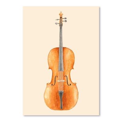 Americanflat 'Cello' by Florent Bodart Art Print